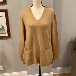 J Crew Soft camel color sweater